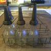 Jay B. Rhodes Co. oil bottle carrier.
