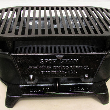 Birmingham Stove & Range Cast Iron BBQ Grill (Restored) - Kitchen