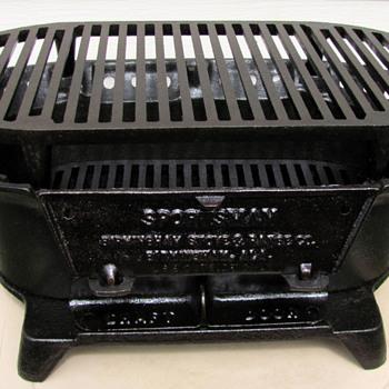 Birmingham Stove & Range Cast Iron BBQ Grill (Restored) - Kitchen