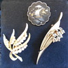 Some Thrift Store Brooch Finds One Is Trifari