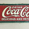 1915 Coke Bottle Sign