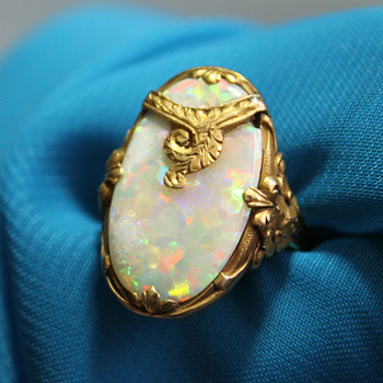 My new Opal ring - Fine Jewelry