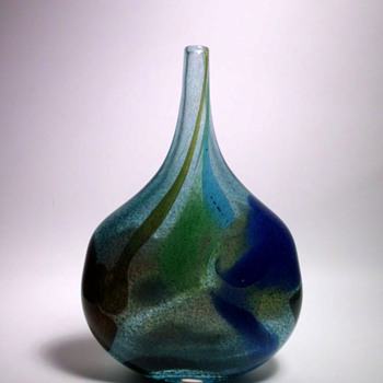 Bengt Orup Spontana Vase for Johansfors - Art Glass