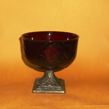 unknown red goblet... - Glassware