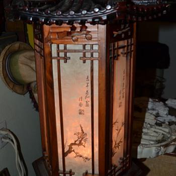 Chinese Lamp / Shade ??