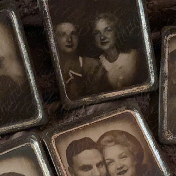 Photomatic Tin Frames of James Dougherty & Norma Jeane (Marilyn Monroe) discovered in April 2021 - Photographs