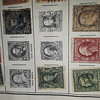 Ben Franklin stamps George Washington stamps