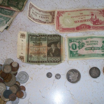 father-in-law's old money - US Coins