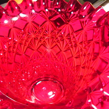 Red Basket - Glassware