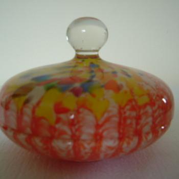 Welz Powder Bowl - Art Deco