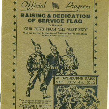 July 4, 1942 - Military and Wartime