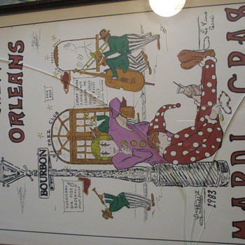Vintage New Orleans Posters Luttrell - Posters and Prints