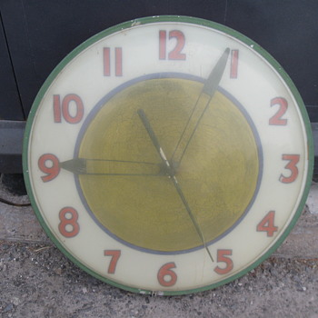 Barn yard and shop estate sale find - Clocks