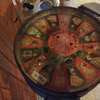 1¢ Play Roulette Poker Coin-Operated - Coin Operated