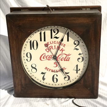 Seth Thomas Coca Cola Clock - Clocks