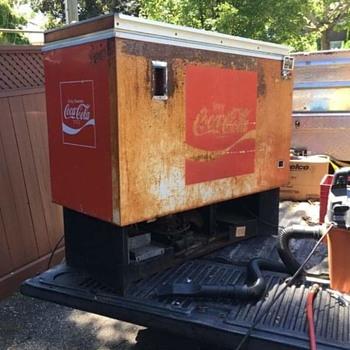 Coke cooler  - Coca-Cola