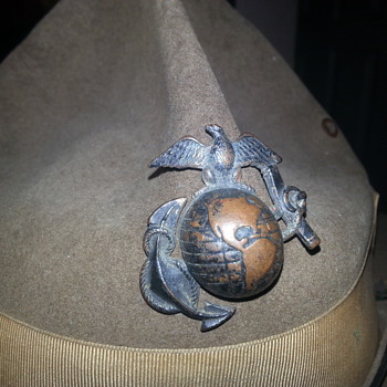 WWI era U.S. MARINE CORPS campaign hat