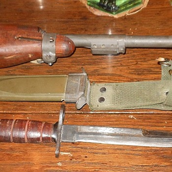 M4 Bayonet For M1 Carbine  - Military and Wartime