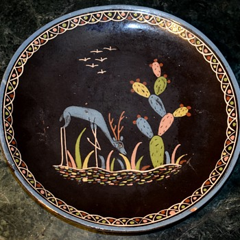 Dinner Plate - handmade in Mexico - Pottery