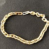 Chain-link bracelet.  Please help identify maker.