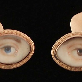 Eye Miniature Cufflinks - Fine Jewelry