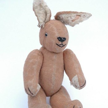 ancienne peluche - lapin vers 1930 - Toys