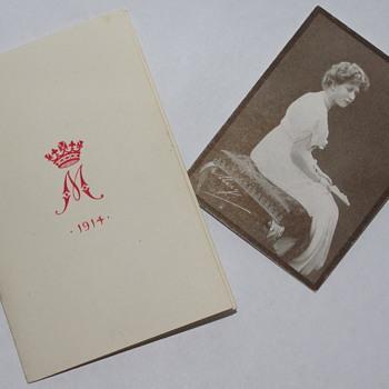 1914 Royal Christmas Card - Cards