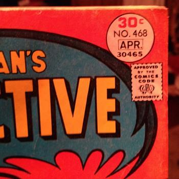 Batman's Detective Comics No. 468