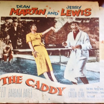 1953 the caddy lobby card