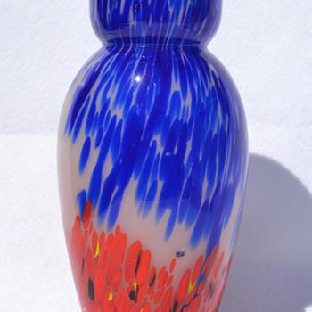 Kralik spatter vase - Art Glass
