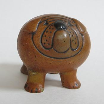 Mini Lisa Larson Bulldog?  - Mid-Century Modern