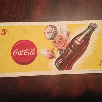 Coca Cola Blotter - Coca-Cola