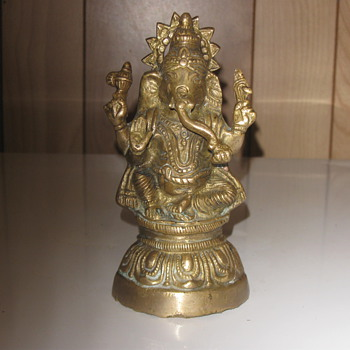 Bronze, Hindu Statue.   - Asian
