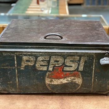 Vintage Pepsi cooler  - Advertising