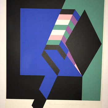 Eduardo Ramirez Villamizar Serigraph  - Fine Art