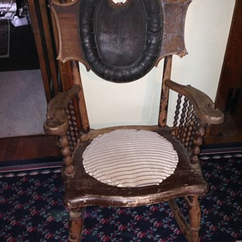 My Grandfather's rocker - Furniture