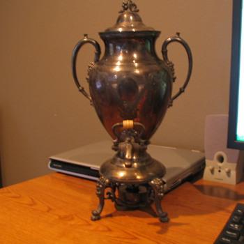 Sterling Silver Tea/Coffee Urn - Silver