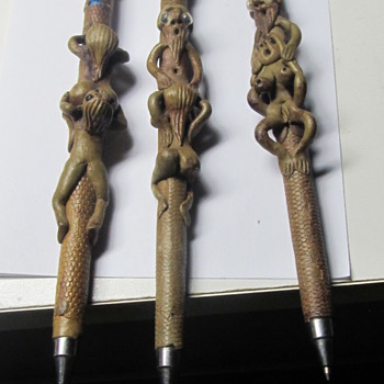 Sexual clay writing pens - Pens