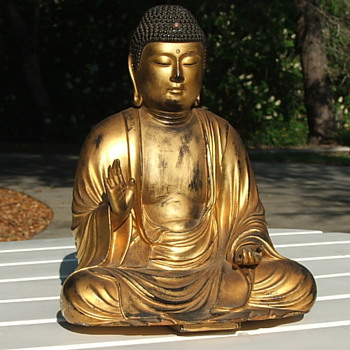Wooden Buddha - Asian