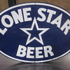 texas lone star metal sign
