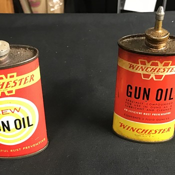 Winchester small oil cans  - Advertising