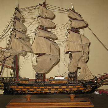 Fragata Espanola Siglo XVIII Model Ship - Toys