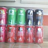 Disney 15 years collectible coke cans