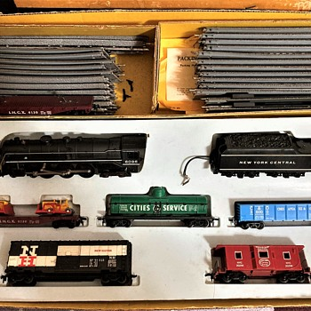 Marx Train Set, #79742 - Model Trains
