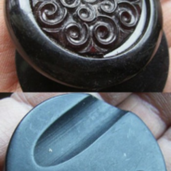Just some OLD Buttons - Various - Sewing