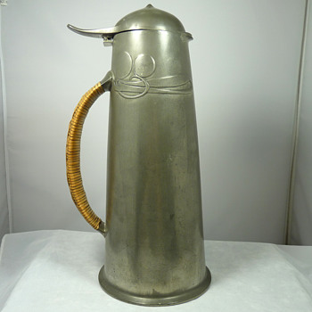 A Tudric Pewter 0304 Flagon by Archibald Knox for Liberty & Co - Arts and Crafts