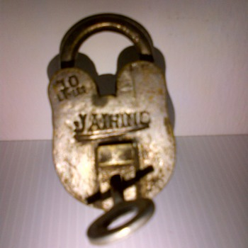 70-Year old Colonial India Brass locks - Tools and Hardware