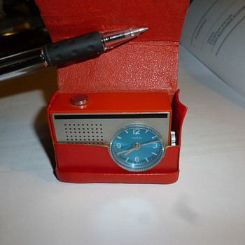 Very small alarm clock