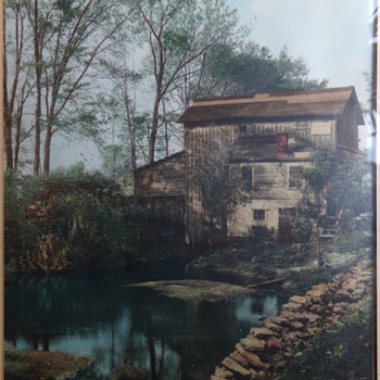 Photochrome: Ye Old Cidermill - Fine Art