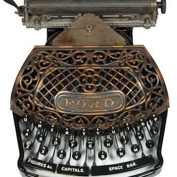 Ford typewriter - 1895 - Office